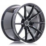 Jante Concaver CVR4 22x9 ET10-52 BLANK Double Tinted Black