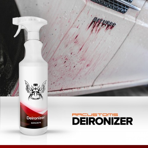 DEIRONIZER 1L ( Solutie eliminare Pulbere metalica)