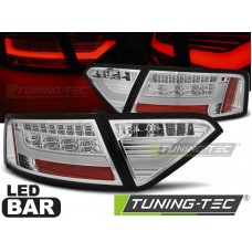 Triple AUDI A5 07-06.11 COUPE CHROME LED BAR