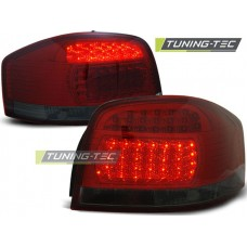 Triple AUDI A3 05.03-08 RED SMOKE LED