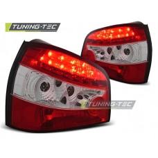 Triple AUDI A3 09.96- 08.00 RED WHITE LED