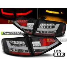 Triple AUDI A4 B8 08-11 SEDAN BLACK LED