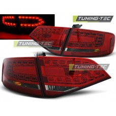 Triple AUDI A4 B8 08-11 SEDAN RED SMOKE LED
