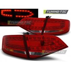 Triple AUDI A4 B8 08-11 SEDAN RED WHITE LED