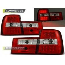 Triple BMW E34 02.88-12.95 RED WHITE LED