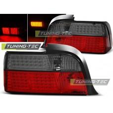 Triple BMW E36 12.90-08.99 COUPE RED SMOKE LED