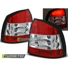 Triple OPEL ASTRA G 09.97-02.04 3D/5D RED WHITE LED