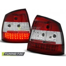 Triple OPEL ASTRA G 09.97-02.04 RED WHITE LED