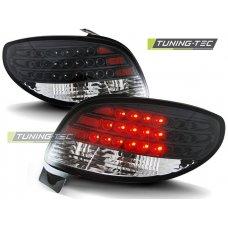 Triple PEUGEOT 206 10.98- BLACK LED