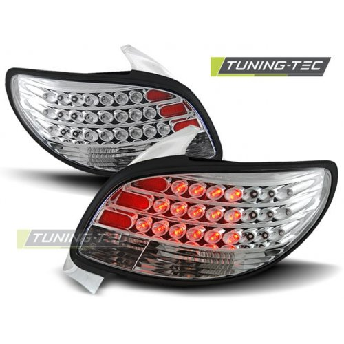 Triple PEUGEOT 206 10.98- CHROME LED