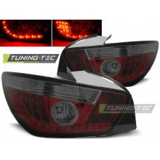 Triple SEAT IBIZA 6J 3D 06.08- RED SMOKE LED