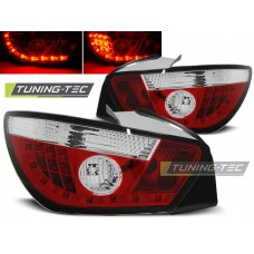 Triple SEAT IBIZA 6J 3D 06.08- RED WHITE LED