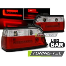 Triple BMW E36 12.90-08.99 C/C RED WHITE BAR LED