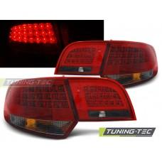 Triple AUDI A3 8P 04-08 SPORTBACK RED SMOKE LED