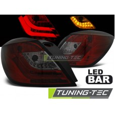 Triple OPEL ASTRA H 03.04-09 3D GTC RED SMOKE LED