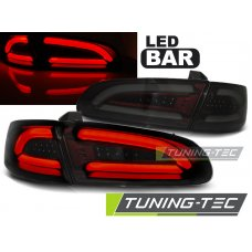 Triple SEAT IBIZA 04.02 -08 SMOKE RED LED BAR