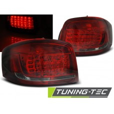 Triple AUDI A3 08-12 RED SMOKE LED