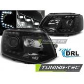 Faruri VW T5 2010-2015- BLACK TRU DRL
