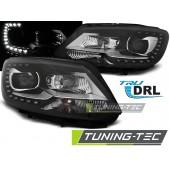 Faruri VW TOURAN II 08.10- BLACK TRU DRL