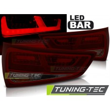 Triple AUDI A1 2010-12.2014 RED SMOKE LED