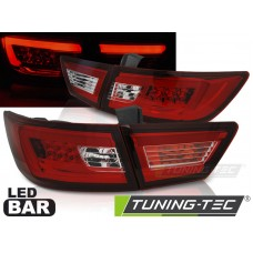 Triple RENAULT CLIO IV 13- HATCHBACK LED BAR RED WHITE