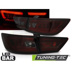 Triple RENAULT CLIO IV 13- HATCHBACK LED BAR RED SMOKE