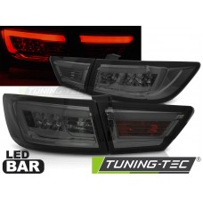 Triple RENAULT CLIO IV 13- HATCHBACK LED BAR SMOKE