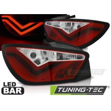 Triple SEAT IBIZA 6J 3D 06.08-12 RED WHITE LED BAR