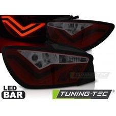 Triple SEAT IBIZA 6J 3D 06.08-12 RED SMOKE LED BAR