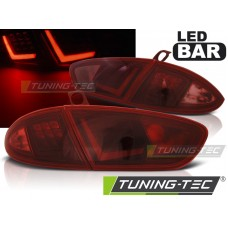 Triple SEAT LEON 03.09-13 RED SMOKE LED BAR