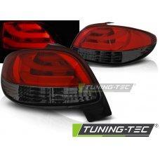 Triple PEUGEOT 206 10.98- RED SMOKE LED BAR