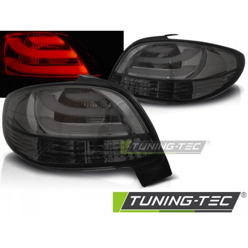 Triple PEUGEOT 206 10.98- SMOKE LED BAR