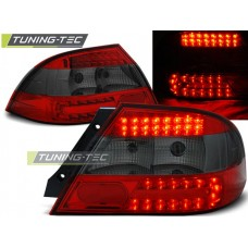 Triple MITSUBISHI LANCER 7 SEDAN 04-07 RED SMOKE LED
