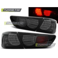 Triple MITSUBISHI LANCER 8 SEDAN 08-11 BLACK SMOKE LED