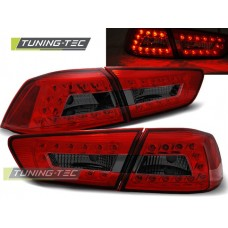 Triple MITSUBISHI LANCER 8 SEDAN 08-11 RED SMOKE LED