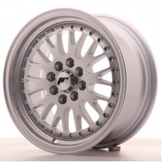 Jante Japan Racing JR10 15x7 ET30 4x100/108 Full Silver