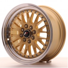Jante Japan Racing JR10 15x7 ET30 4x100/108 Gold