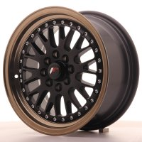 Jante Japan Racing JR10 15x7 ET30 4x100/108 MatBlk BzLip