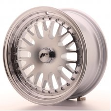 Jante Japan Racing JR10 15x7 ET30 Blank Mach Silver