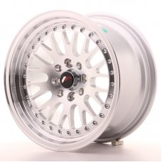 Jante Japan Racing JR10 15x8 ET15 4x100/114 Machined Sil
