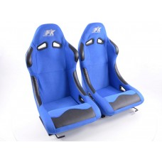 Scaune sport Basic textil albastru