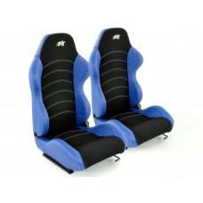 Scaune sport Vancouver negru/albastru