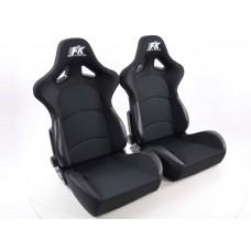 Scaune sport Control textil negru