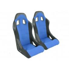 Scaune sport Edition 4 textil albastru