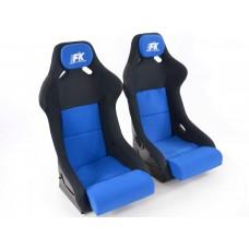 Scaune sport Evolution textil albastru/negru
