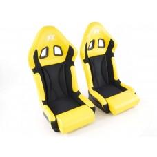 Scaune sport Race 1 galben/negru