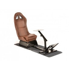 FK game seat racing simulator for racing games at PC or consoles brown