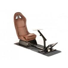 FK game seat racing simulator for racing games at PC or consoles brown