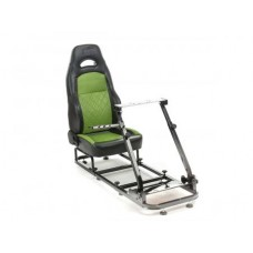FK game seat Silverstone racing simulator for racing games negru/verde