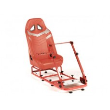 FK game seat Monza racing simulator for racing games silver/rosu